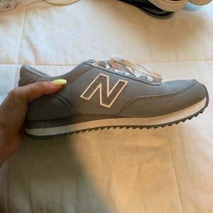 grey new balance shoes